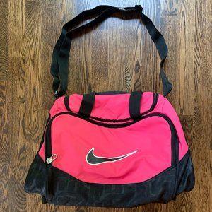 Nike Small Pink Duffle Bag
